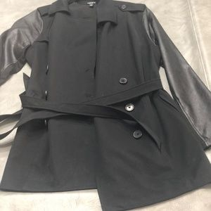 Torrid Pointe and Faux Leather Jacket